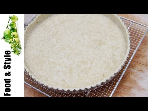 Pastry Dough & Homemade Sweet Tart Crust - 2 Easy Steps!