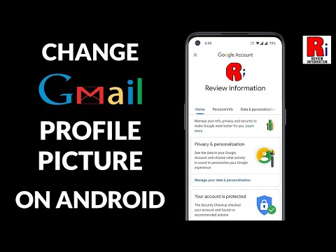 CHANGE PROFILE PICTURE OF GMAIL ACCOUNT FROM ANDROID