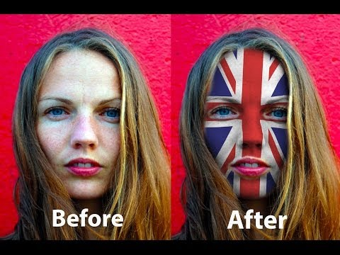 Photoshop For Complete Beginners - Face Painting Effect
