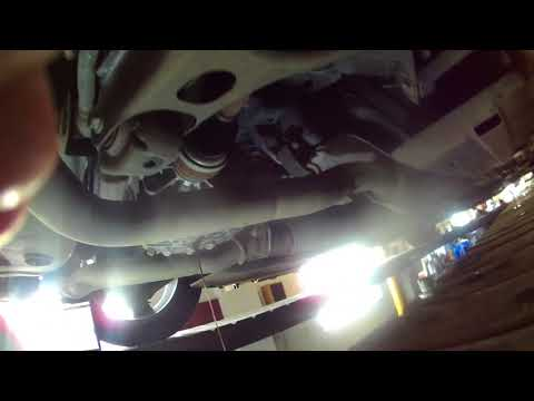 Rear differential fluid change 2013 Dodge Challenger. Install, remove or replace