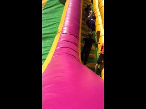 high jump bouncing castle