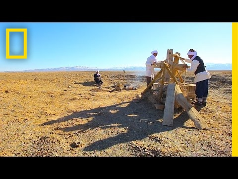 Beneath Iran's Dusty Desert Lie Ancient Water Tunnels Still in Use | National Geographic
