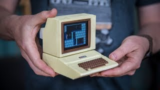 building a working miniature apple ii replica