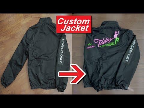 How I customized my jacket ft. @membersonlyusa