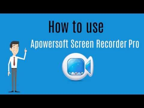 How to Use Apowersoft Screen Recorder Pro