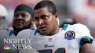 Former NFL Player Questioned By Police After Threatening Social Media Post | NBC Nightly News