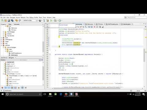 Multi-Client-Server Chatting || MultiUser Chat || Java Socket Programming