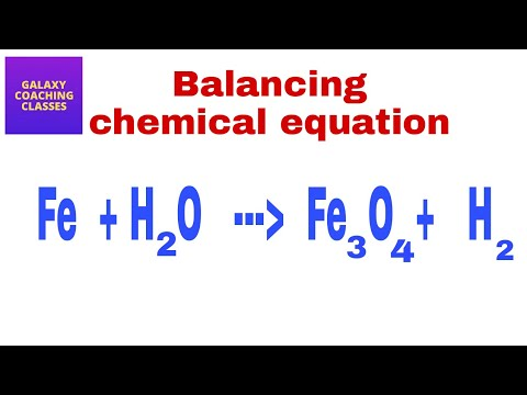 How to balance a chemical equation ll  NCERT class 10 chapter 1 chemical reactions and equations