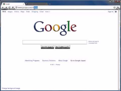 How To Keep Google Chrome Always In English In Japan