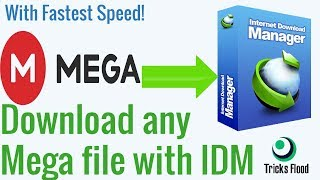 How To Bypass Mega Download Limit And Download With IDM 2018