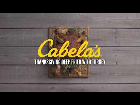 Thanksgiving Deep-Fried Wild Turkey