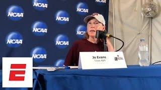 Texas A&M coach Jo Evans discusses swing in emotions after loss to Florida   ESPN