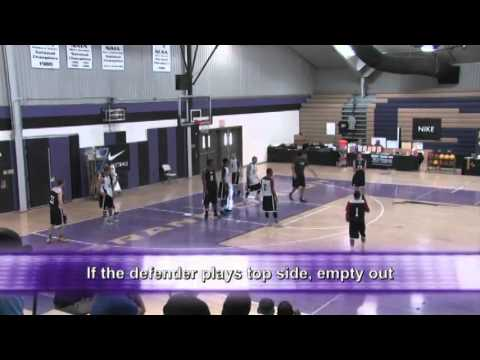 Run a Quick-Hitting Set in Transition! - Basketball 2015 #77
