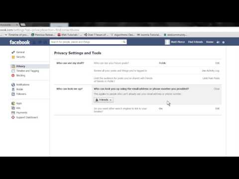 How to Change Facebook Settings so People Can Find Me : Tech Vice