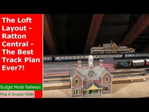 The Loft Layout - Ratton Central - The Best Track Plan Ever?!