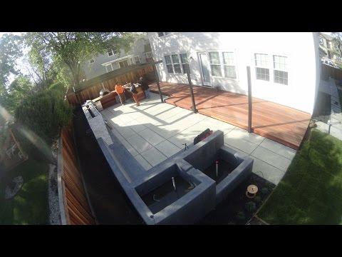 Steel Pergola Installation Walnut Creek (Time Lapse)