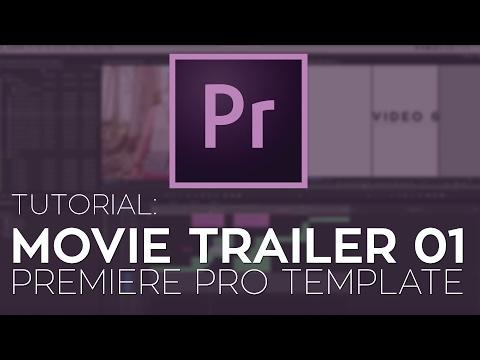 Rampant Movie Trailer 01 Premiere Pro Template Tutorial