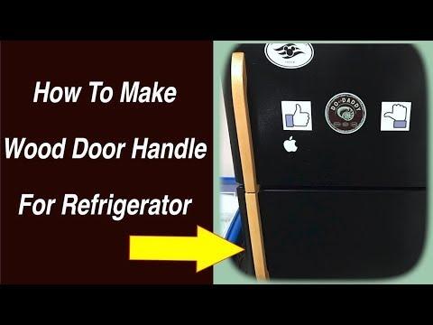 How To Replace a Refrigerator Door Handle
