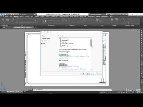 Creating the sheet set file | AutoCAD Civil 3D: Plan Production from LinkedIn Learning