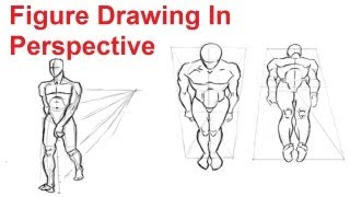 Figure Drawing Lesson 48 How To Draw The Human Figure In Perspective