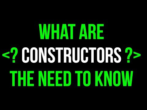 What are Constructors?