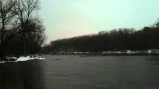 The Turtle Creek - Rock River Confluence, Beloit Wisconsin