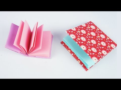 DIY Mini Pocket Diary For Christmas Gift - Easy Craft - Tcraft
