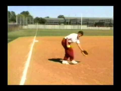 Softball Defense for 3rd Base