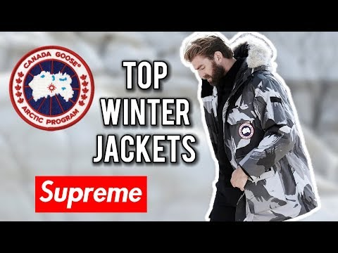Top Best Winter Jackets To Buy In 2017 | Canada Goose, North face, Supreme, Nobis, Mooseknuckles