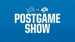 Detroit Lions vs. LA Rams: 2021 Season Week 7 Postgame Show