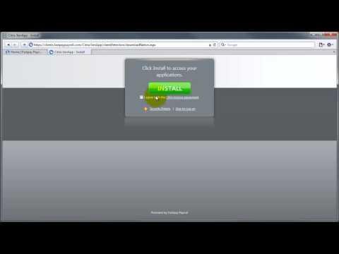 Citrix Receiver Install Safari 5 for Windows