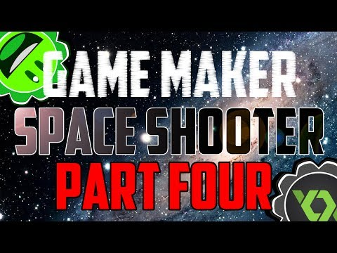 Game Maker Tutorial - Space Shooter - Part Four: HUD