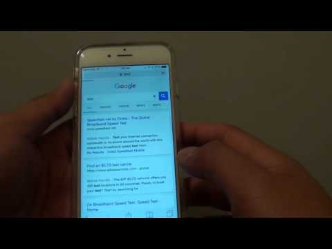 iPhone 6: How to Set Safari Default Search Engine Google / Yahoo / Bing