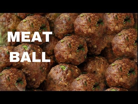 Meatball | HOW TO MAKE MEATBALLS | EASY MEATBALL RECIPE | NEPALI STYLE