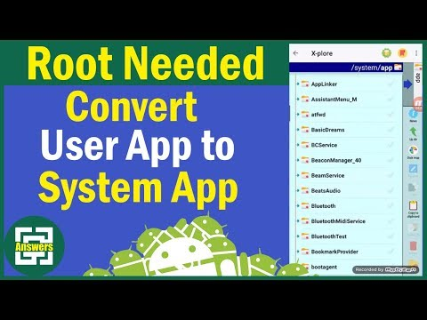 [09] [ROOT] How to Convert any Android App to a System App