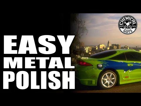 How To Polish Metal FAST! - Mitsubishi Eclipse | Chemical Guys Car Care