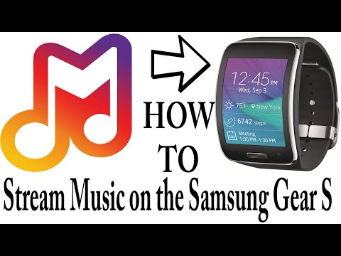 How To Stream Music on the Samsung Gear S - Milk