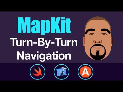 MapKit: Turn-By-Turn Navigation | Swift 4, Xcode 9