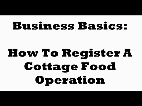 How To Register A Cake Business As A Cottage Food Operator In Los Angeles: Business Basics