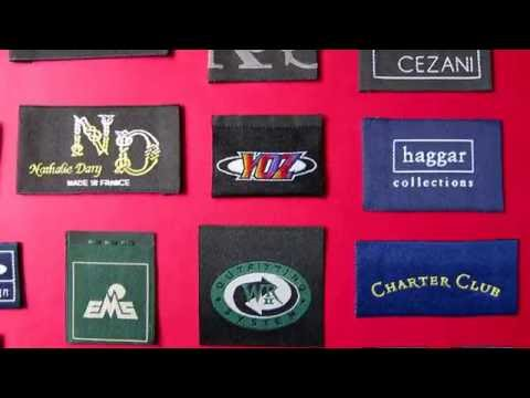 Custom Clothing Labels, Woven Labels, Designer Clothing Labels - Affordable, Low Minimun