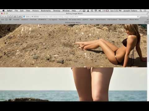 Adobe Muse CC Parallax Scrolling Tutorial | Scrolling Image Masks