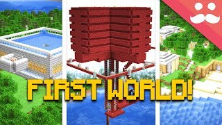 I Found my FIRST MINECRAFT LET'S PLAY WORLD!