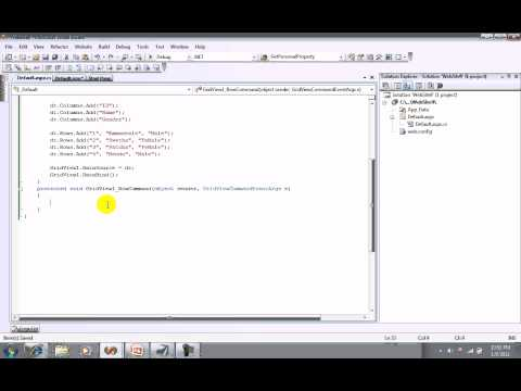 Select Command in a GridView Control in ASP.Net (www.mendublog.blogspot.com)