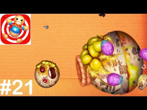 Kick The Buddy - Gameplay Walkthrough Part 21 - All New Weapons Pea Of Kicks
