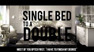 Single Bed To Double Bed [Funny Reminder]