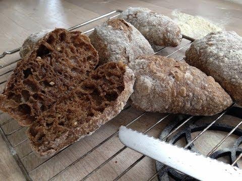 Langtidshævede brød - Dough raised overnight