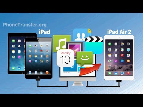 How to Sync Videos, Music, Photos, Contacts from iPad Mini / iPad Air to iPad Air 2