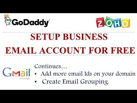 Add more free business email account with your company brand name (Part 2) | Hindi
