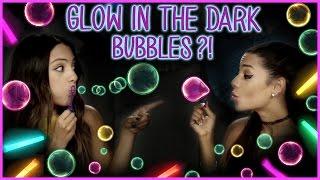DIY Glow In The Dark Bubbles?! | Niki and Gabi DIY or DI-Don