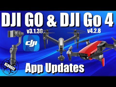 DJI Go 4.2.8 & DJI Go 3.1.30 - Mavic Air / Inspire 2 / Osmo Mobile 2